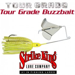Strike King Tour Grade Buzzbait 3/8oz #201 Chartreuse