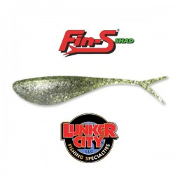 "Lunker City™ Fin-S® Shad 4"" #059 Chartreuse Ice"