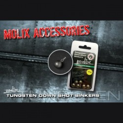 Molix Tungsten Down Shot Sinkers #1/8oz (3,5 g) (6 pcs.)