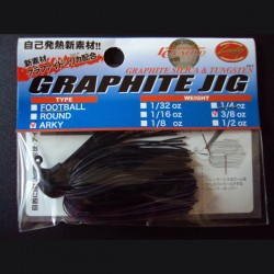 Lucky Craft Graphite Arky Jig 3/8oz #882 Black Purple