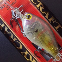 Flat CB MR col.170 Ghost Chartreuse Shad