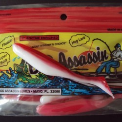 "Bass Assassin Turbo Shad 4"" #379 All American"