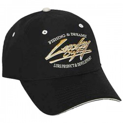 Lucky Craft PR Cap Black