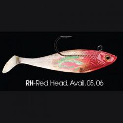Wildeye Swim Baits Shad WSS05 RH Red Head