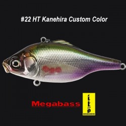 Megabass Vibration-X Ultra RI #22 HT Kanehira - Custom Color