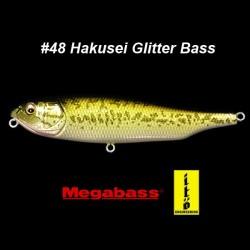 Megabass Giant Dog-X #48 Hakusei Glitter Bass