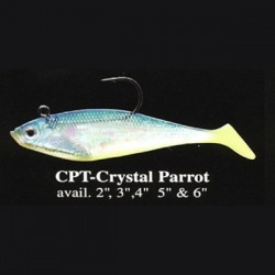 Wildeye Swim Baits Shad WSS05 CPT Crystal Parrot