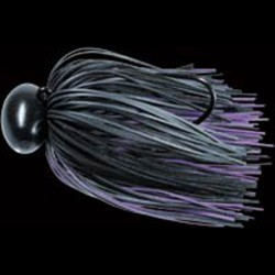 Lucky Craft Graphite Football Jig 1/2oz #882 Black/ Purple