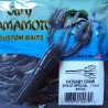 3 3/4'' Fat Baby Craw (3FS-07-SPECIAL) #334 Light Smoke w/ Red