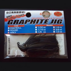 Lucky Craft Graphite Arky Jig 1/2oz #882 Black Brown