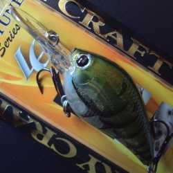 Lucky Craft Flat Mini DR #129 Ghost Water Melon Craw