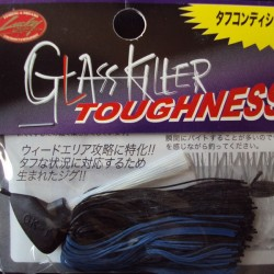 Lucky Craft Glass Killer Toughtness 1/2oz col.0899 Black/ Blue