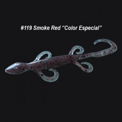 "Zoom Lizard 6'' col.119 Smoke Red ""Color Especial"""