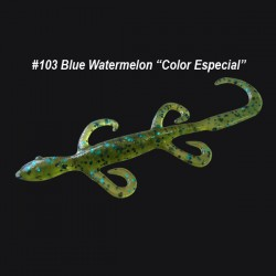 "Zoom Mini Lizard 4'' col.103 Blue Watermelon ""Color Especial"""