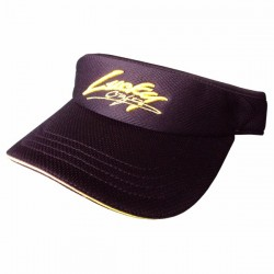 Lucky Craft Sun Visor Black and Yellow