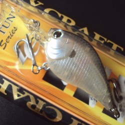 Lucky Craft Flat Mini DR #222 Ghost Tennessee Shad