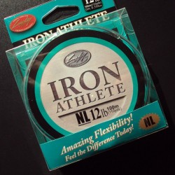 Lucky Craft Iron Athlete NL #8lb 0.260 mm