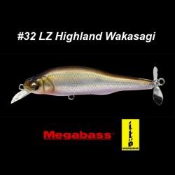 Megabass Prop Darter 80 #32 LZ Highland Wakasagi