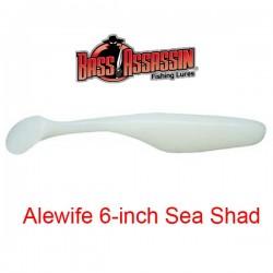 """Bass Assassin Sea Shad 6"""" #108 Alewife"""