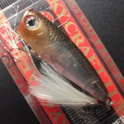 Lucky Craft Bevy Popper 50 #238 Ghost Minnow