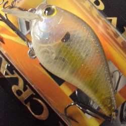 Lucky Craft Flat Mini SR #170 Ghost Chartreuse Shad