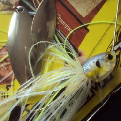 Redemption Spinnerbait 1/2 oz DW col.225 MS Ghost Chartreuse Sd