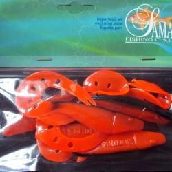 Sama Sandra 12 cm #0045 Orange/ Black