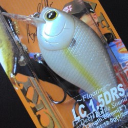 Lucky Craft LC 1.5 DRS #250 Chartreuse Shad