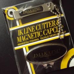 Imakatsu IK Line Cutter & Magnetic Cap Clip #Black