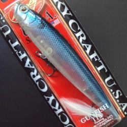 Gunnish 115 col.237 Ghost Blue Shad