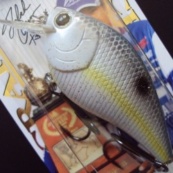 Lucky Craft LC RTO 1.5 #172 Sexy Chartreuse Shad