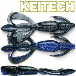 "Keitech Crazzy Flapper 3.6"" #413 Black Blue"