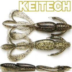 "Keitech Crazzy Flapper 3.6"" #461 Gold Flash Craw"
