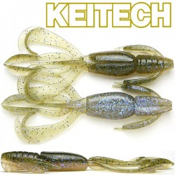"Keitech Crazzy Flapper 3.6"" #464 Electric Green Craw"
