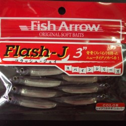 "Fish Arrow Flash J 3"" #25 Lake Wakasagi/ Silver"