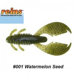 "Reins AX Craw 3.5"" #001 Watermelon Seed"