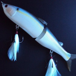 Lucky Craft Real Ayu 178F #183 Pearl Threadfin Shad