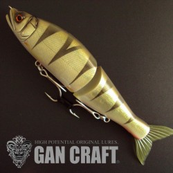 Gan Craft Jointed Claw 178 F #ULT-02 European Perch