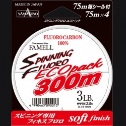 Yamatoyo Spinning Fluoro ECOpack 300m 5lb