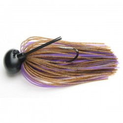 Keitech Rubber Jig Model II 3/8oz #008 Brown/ Purple