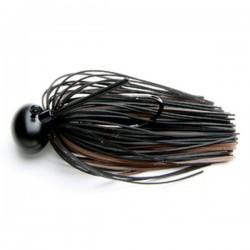Keitech Rubber Jig Model II 1/2oz #F001 Black/ Brown