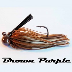 LongastBait Tungsten Jig MIni 1/2oz #05 Brown Purple