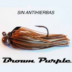 LongastBait Tungsten Jig MIni Sin WE 1/2oz #05 Brown Purple