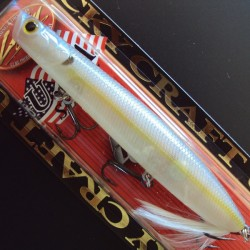 Lucky Craft Gunfish 117 #250 Chartreuse Shad