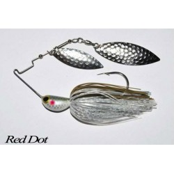 LongastBait 4Wind Spinnerbait 3/4oz 04 Red Dot