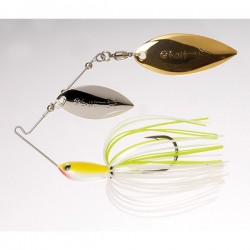Water Slash 1/2 oz Willow Tandem 02 White Chartreuse
