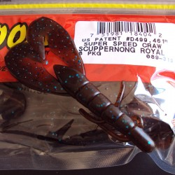 "Super Speed Craw 4'' col.319 Scuppernong Royal ""Color Especial"""