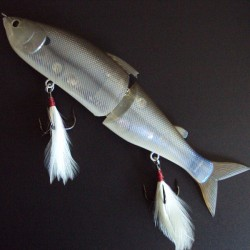 Lucky Craft Real Ayu 178F 241 Striped Shad