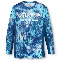St Croix Kryptek Pontus Longsleeve Shirt SLSKRYPBL-XL