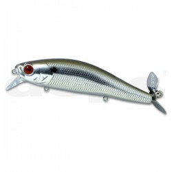 Deps Spiral Minnow col.80 Chrome Black Back